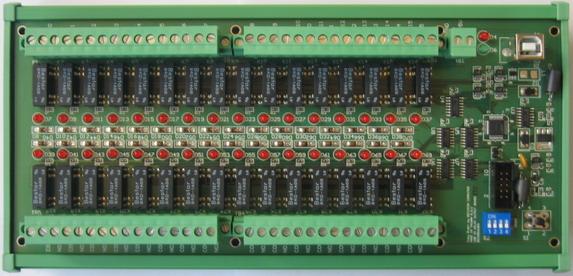 USB Digital I/O - USB32RELAY